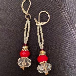 ⚡️Handmade bead earrings
